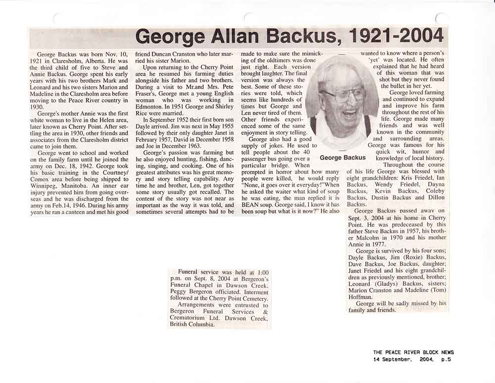 obituaries peace river record gazette - 1000×773